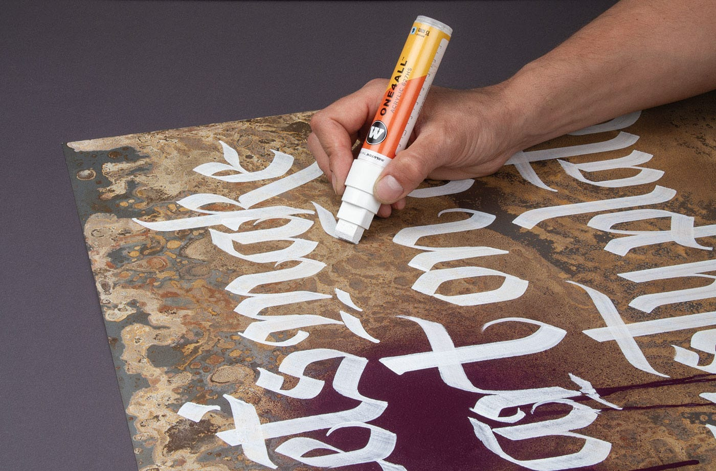Molotow the ONE4ALL marker system – Nothing is impossible!