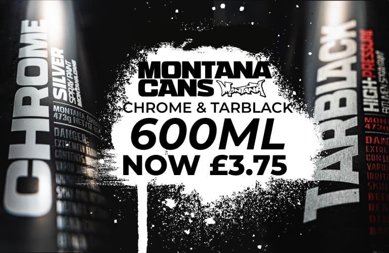 Montana Chrome & Tarblack - Special Offer
