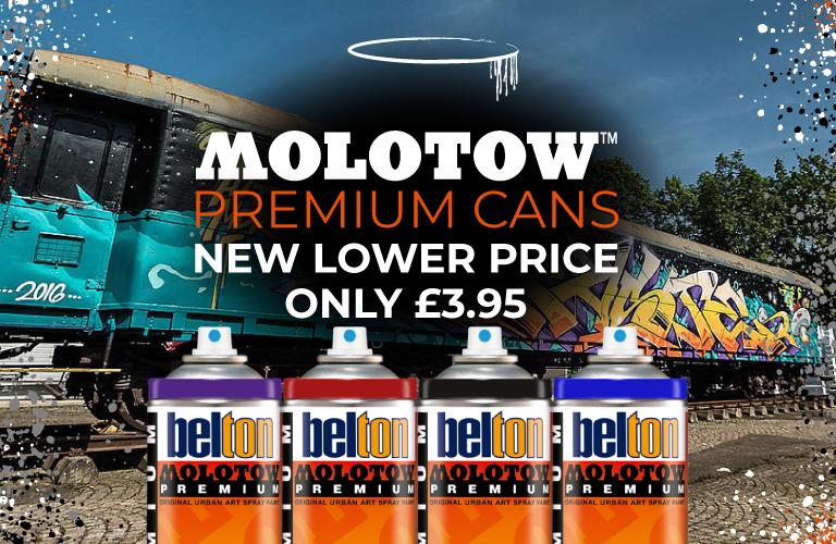 Molotow Premium - New Lower Prices