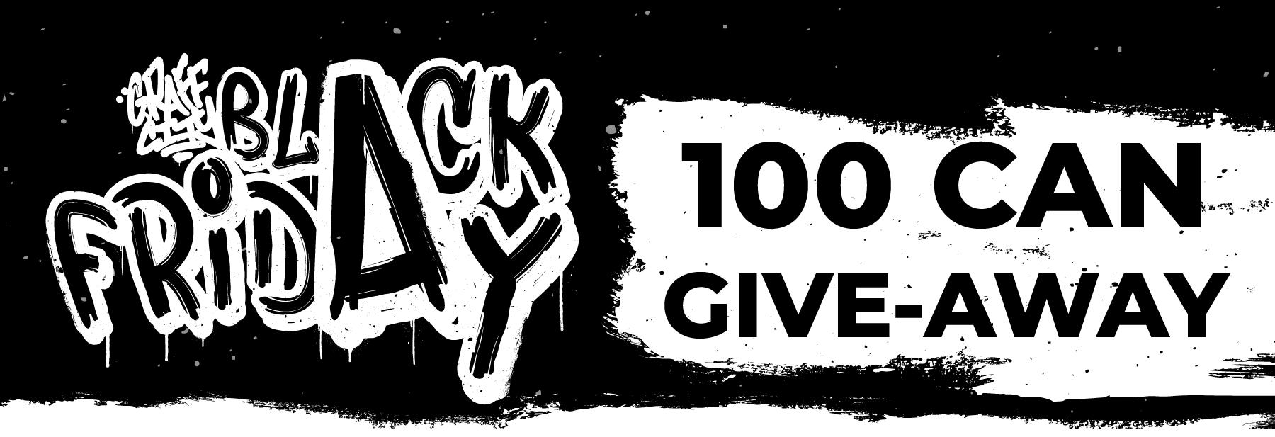 Black Friday 2019 Giveaway!