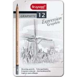 Bruynzeel 12 Graphite Pencil Set