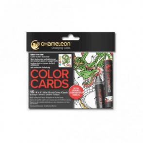 Chameleon Color Cards Tattoo