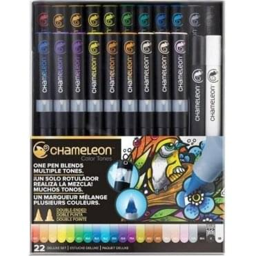Color Tones 22 Pen Deluxe Set