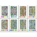 Chameleon Embossed Color Cards Mirror Images