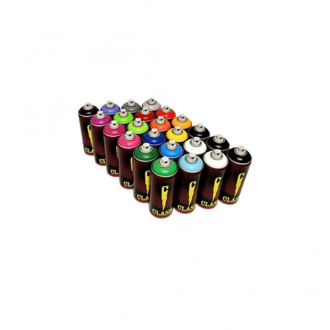 Clash Spray Paint - 24 Pack
