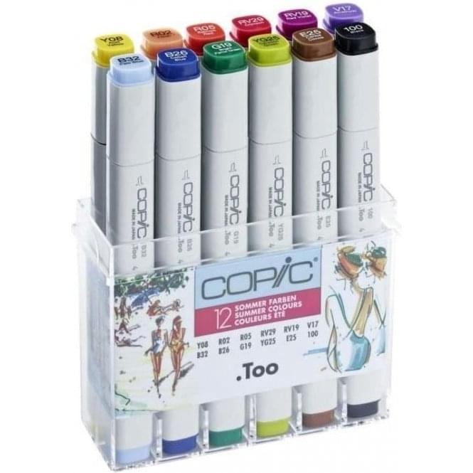 Copic Classic Marker 12 Summer Colours