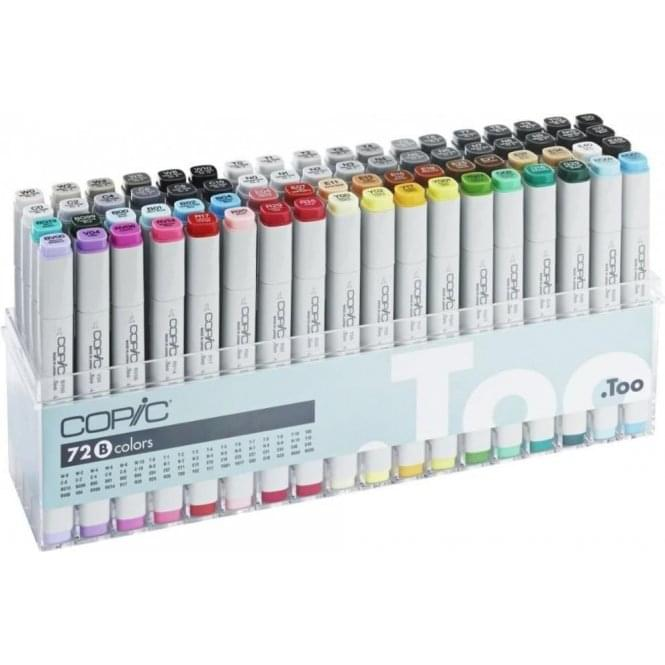 Copic Classic Marker 72 Set B