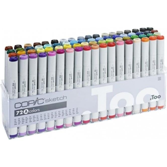 Copic Sketch Marker 72 Set A