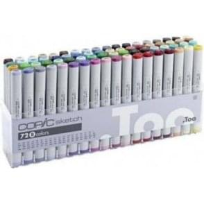 Copic Sketch Marker 72 Set B