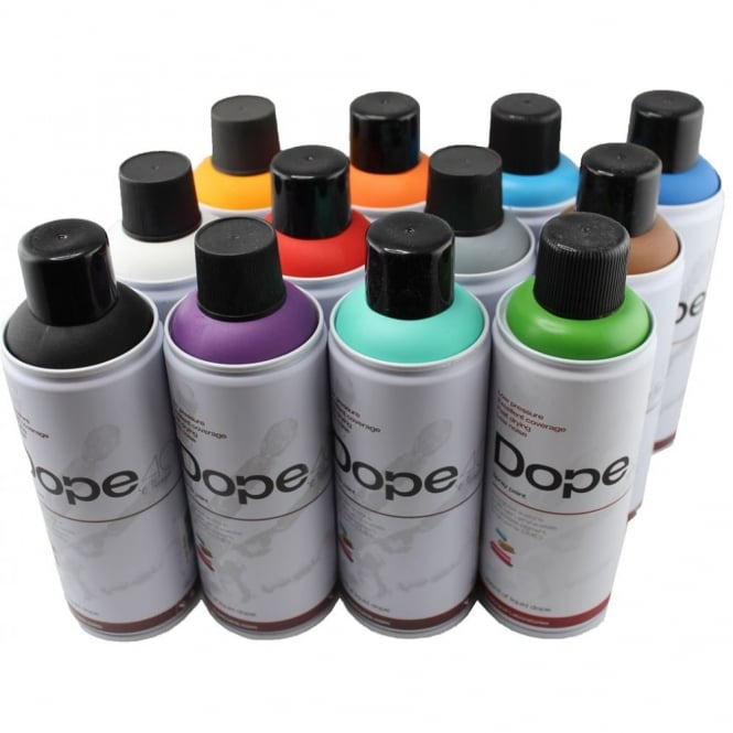 Dope Classic Spray Paint - 12 Pack