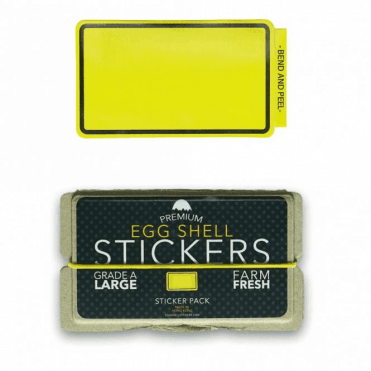 Stickers Yellow Line Border