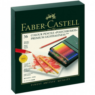 Faber-Castell 36 Colour Pencils Polychromos Gift Box