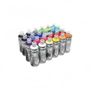 Blue Spray Paint - 24 Pack