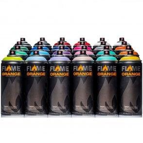 Flame Blue Spray Paint