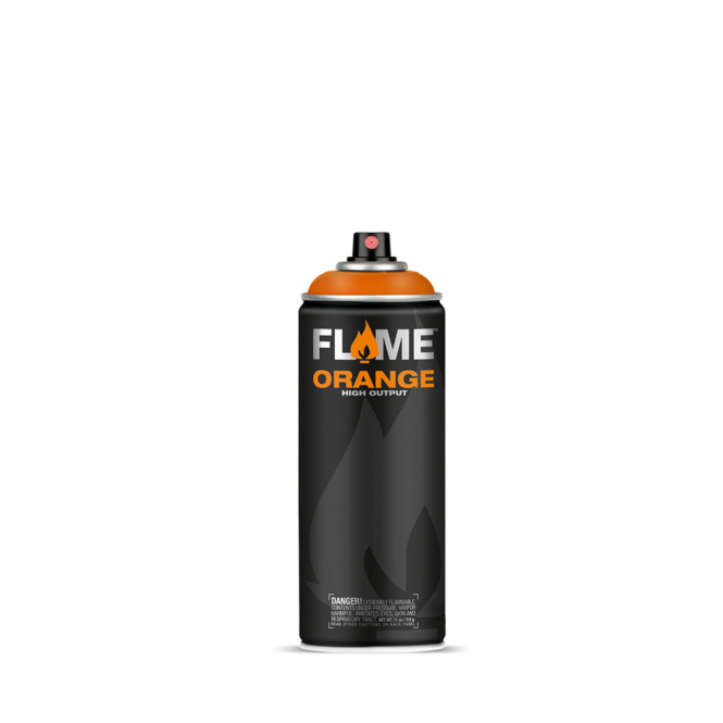 Flame Orange Spray Paint