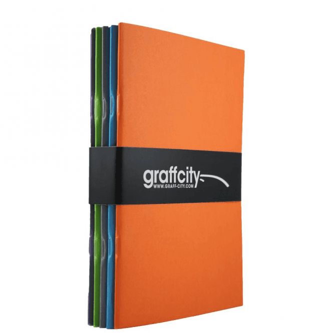 Graff-City Sketch Book Bundle (A5)