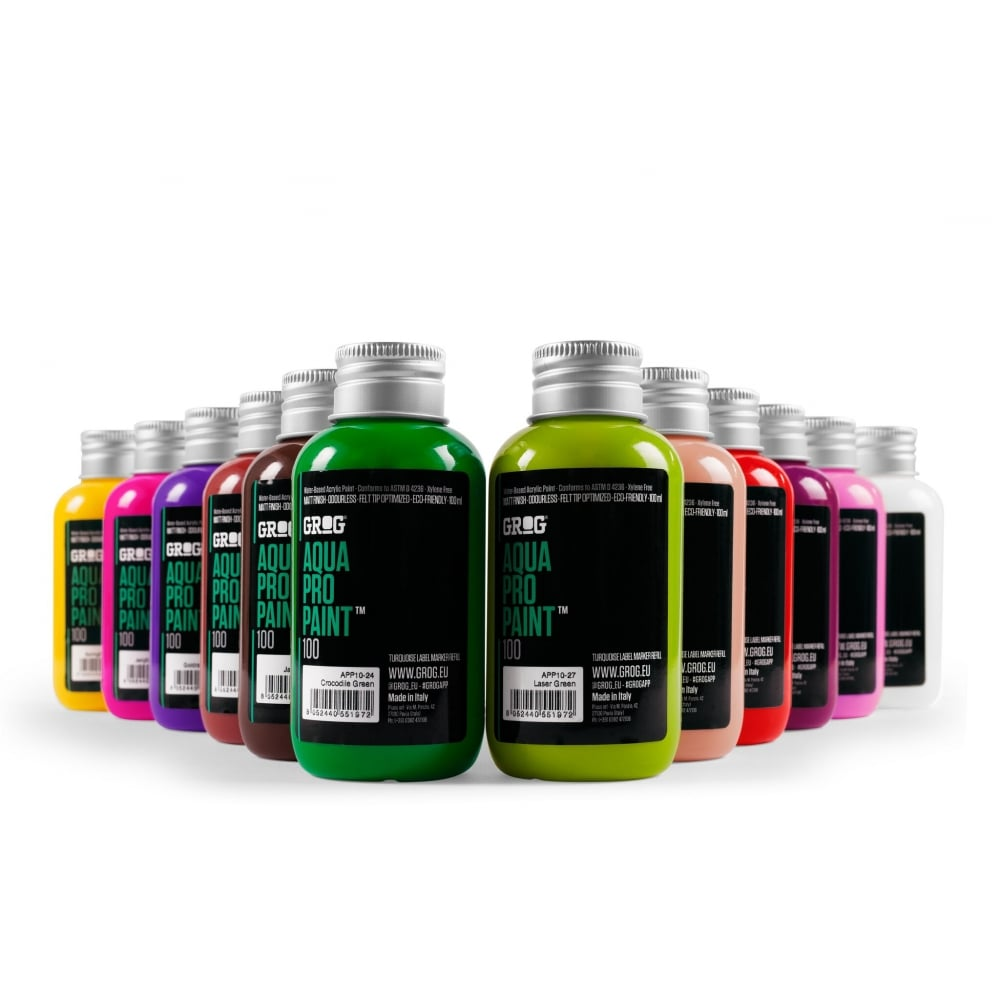 Grog aqua pro paint graff city ltd from uk for Paint pros