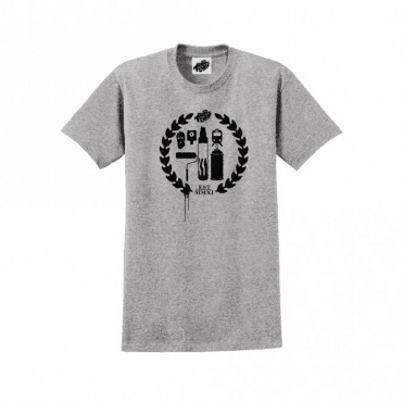 Crest Logo T-Shirt Grey