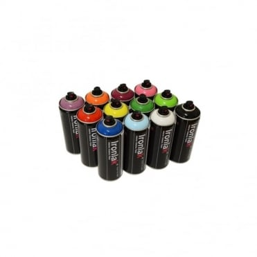 Spray Paint - 12 Pack