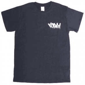 Kobra Embroidered Tag T-Shirt Black