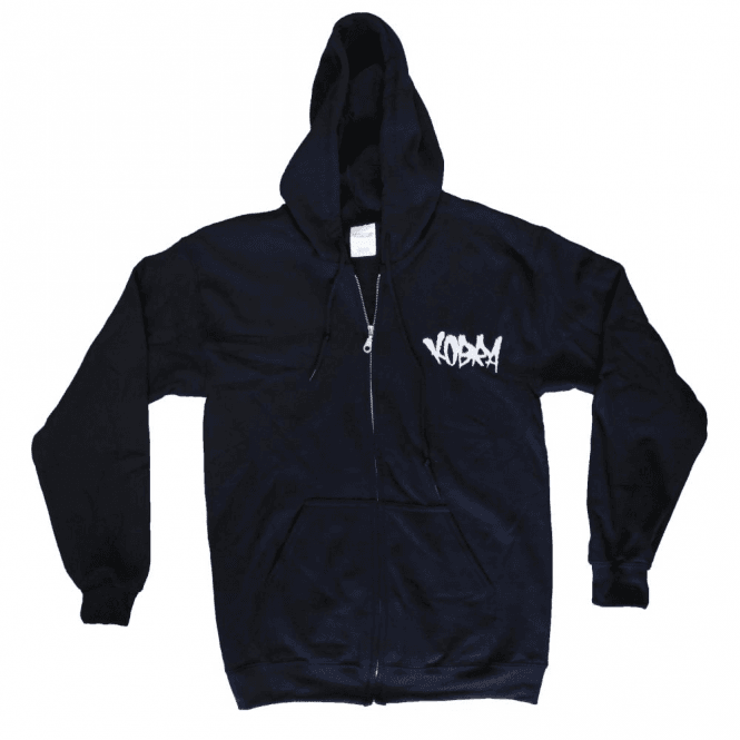 Kobra Embroidered Tag Zip Hoodie