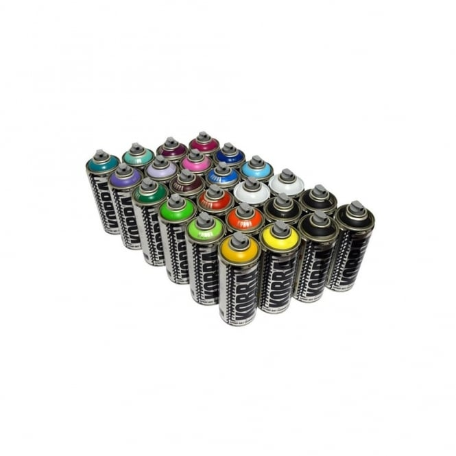 Kobra HP Spray Paint - 24 Pack