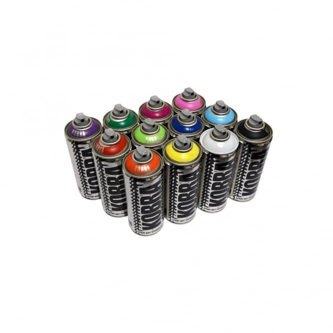 Kobra Spray Paint - 12 Pack