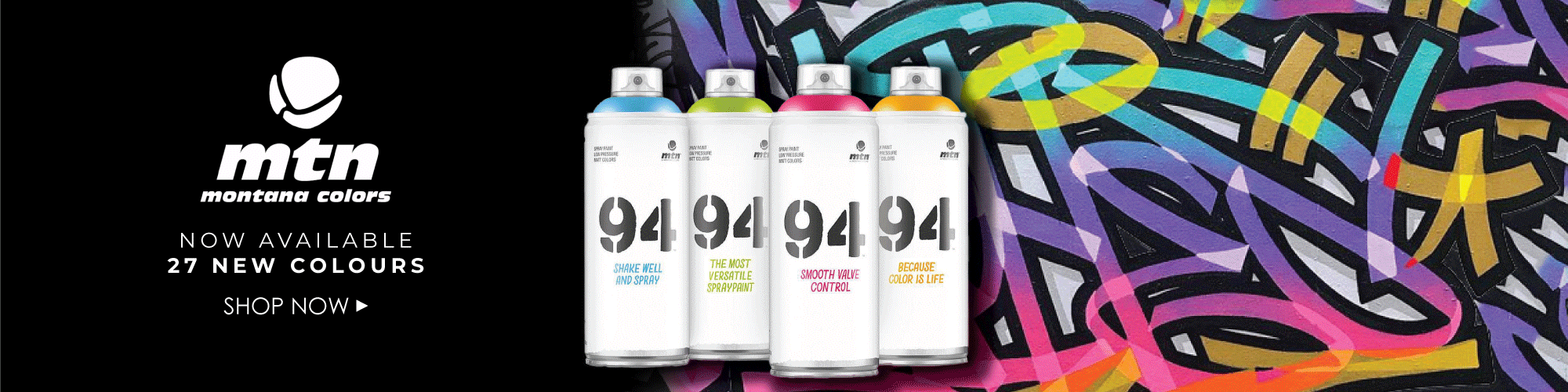 Bombe 94 Montana intérieur spray paint | graffiti supplies & accessories | graff-city