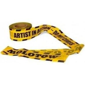 'Artist In Action' Barrier Tape