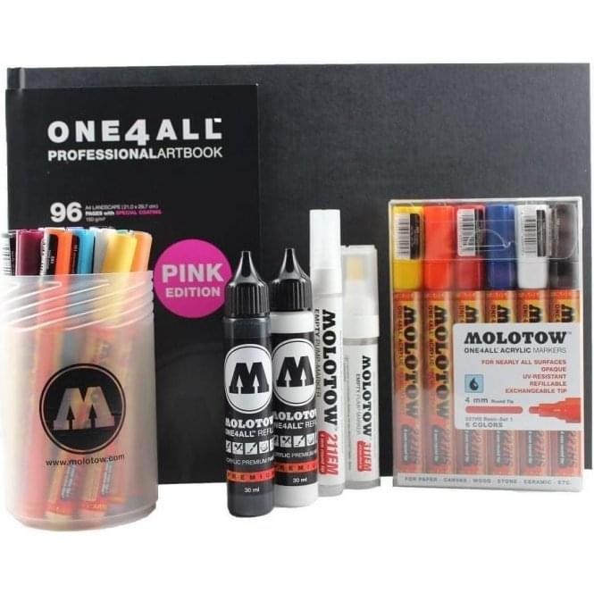Molotow One4All Creative Bundle XL