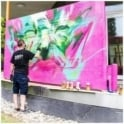 Molotow Pink Film Canvas