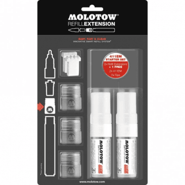 Refill Extension 411EM Starter Set