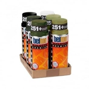 Molotow Spray Paint 6 Pack - Army
