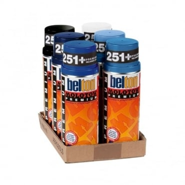 Spray Paint 6 Pack - Blue