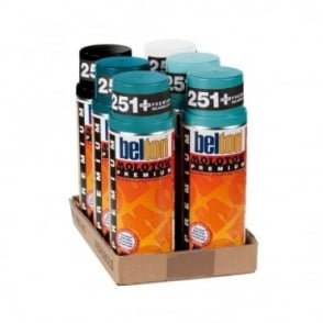 Molotow Spray Paint 6 Pack - Green Blue