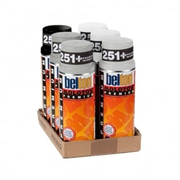 Spray Paint 6 Pack - Grey