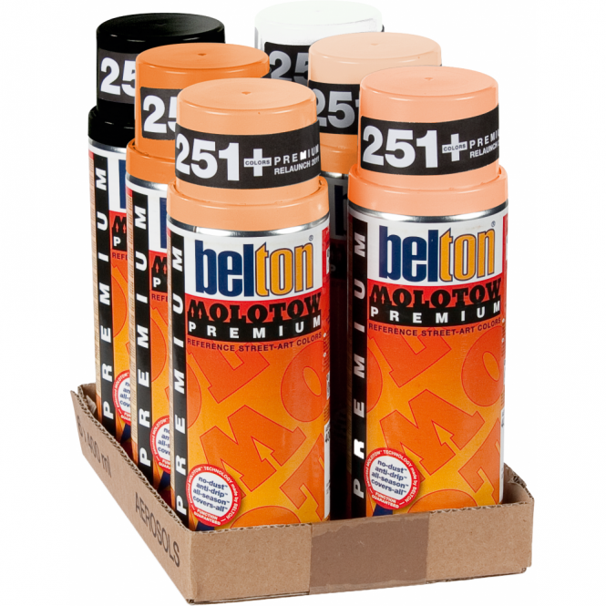 Molotow Spray Paint 6 Pack - Peach
