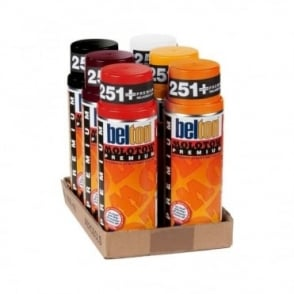 Molotow Spray Paint 6 Pack - Red Orange