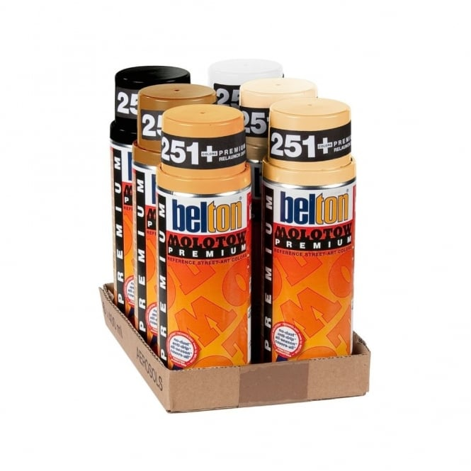 Molotow Spray Paint 6 Pack - Skin