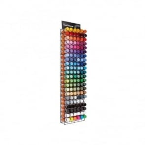 Molotow Spray Paint Rack Filled (132 Cans)