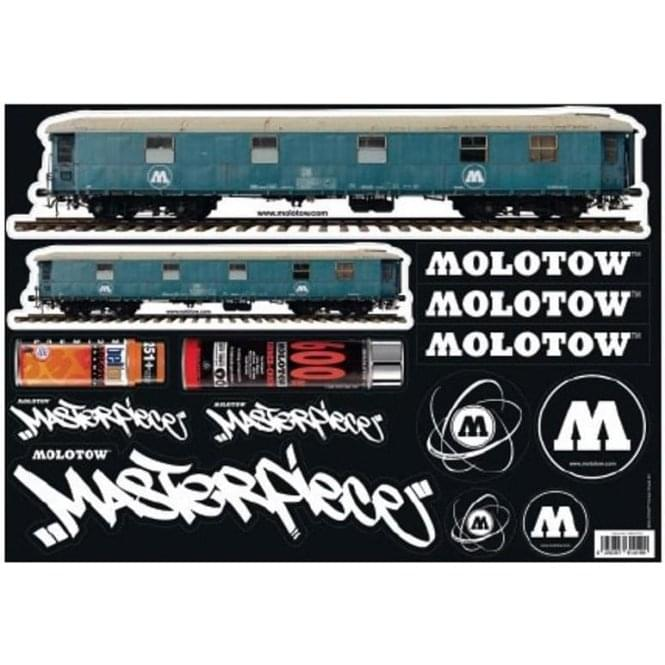 Molotow Sticker Sheet #03