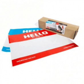 A2 'Hello My Name Is' Stickers (10)