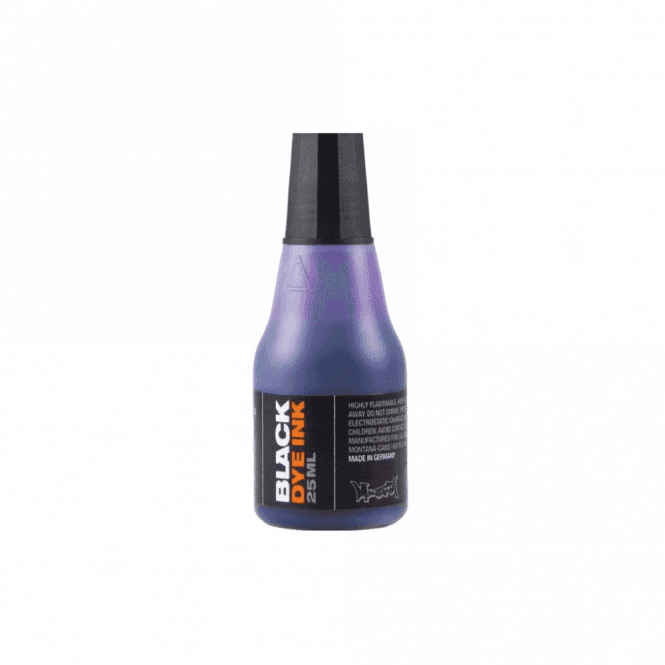 Montana Black Dye Ink 25ml