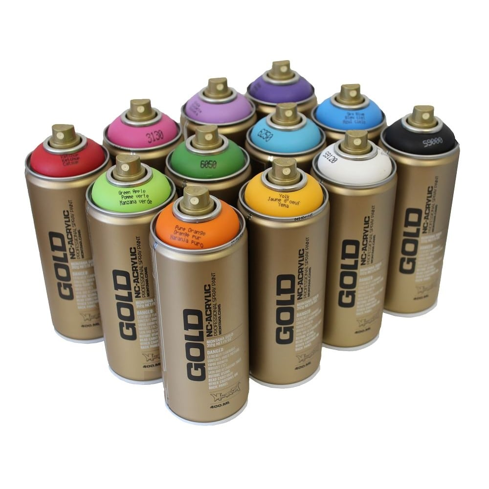 Montana Gold Spray Paint For Sale