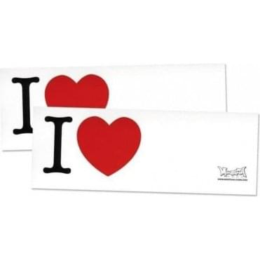 Montana I Love Stickers (100)