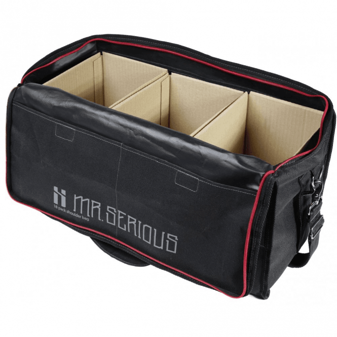 Mr. Serious 18 Pack Shoulder Bag