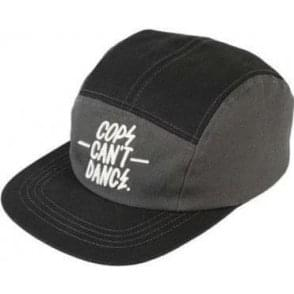 Mr. Serious Cops Can't Dance Cap Black