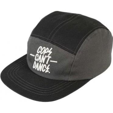 Cops Can't Dance Cap Black