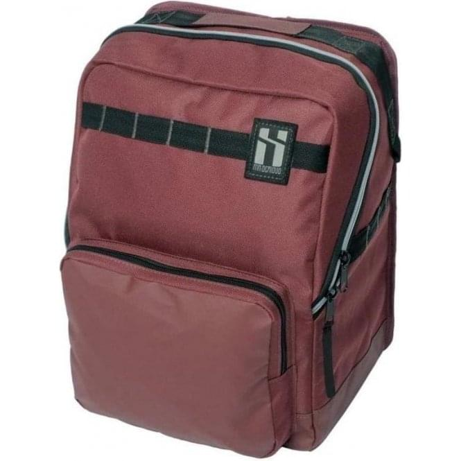 Mr. Serious Metro Backpack Maroon