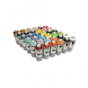 94 Spray Paint - 36 Pack